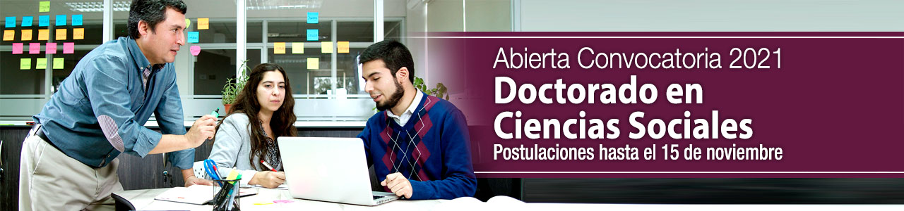 Convocatoria Doctorado Cs. Sociales 2020