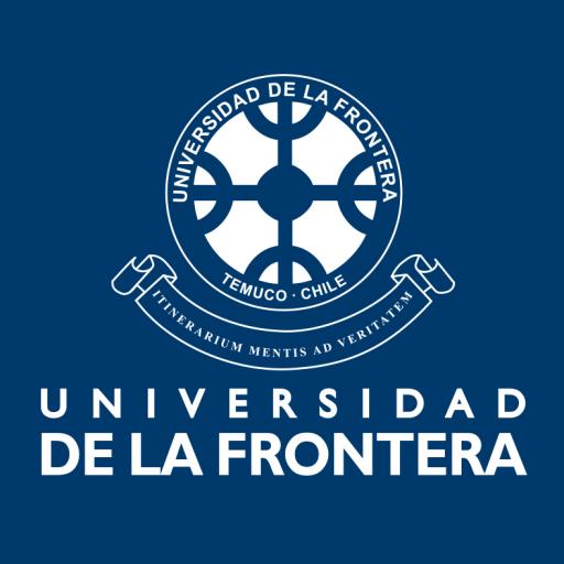 Logo UFRO azul uso publicitario